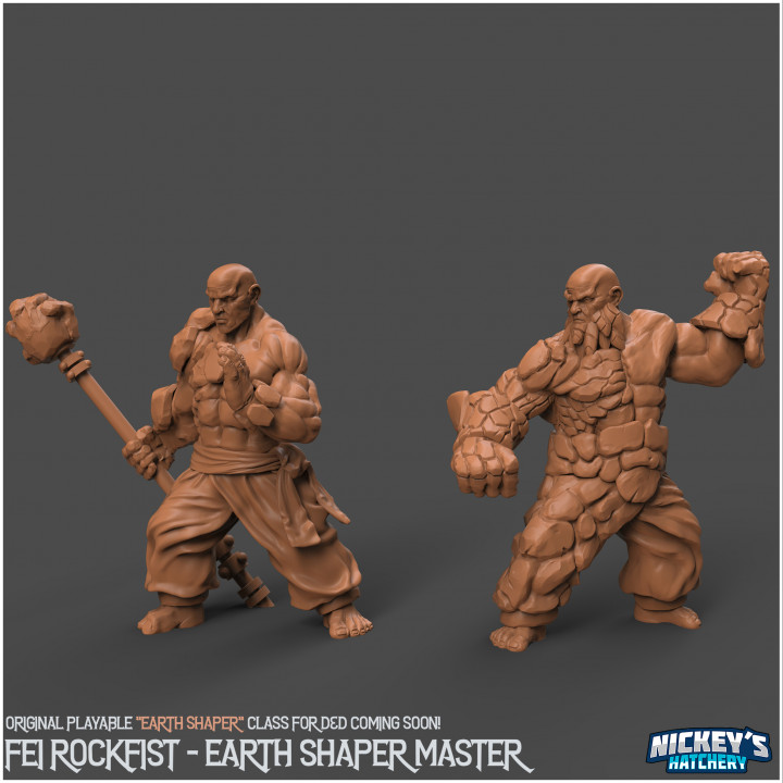 Earth Shapers #1 - Fei Rockfist and the Dwarven Masters of Earth Shaping's Cover