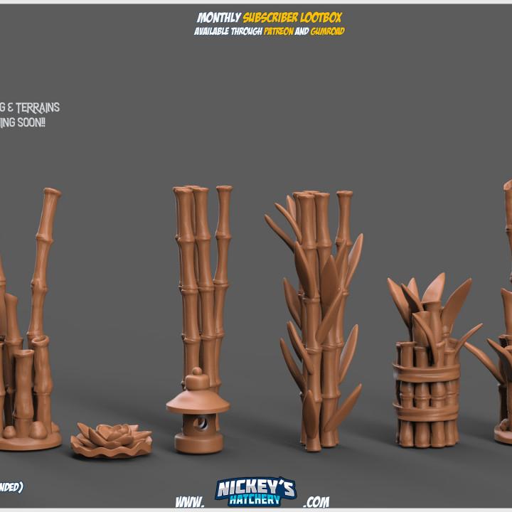 Bamboo Scatter Terrain Pack's Cover