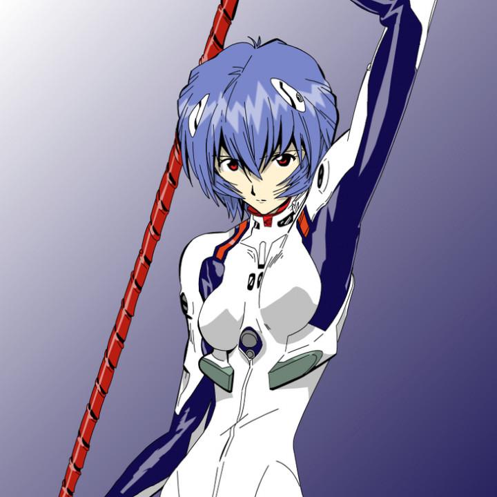 Rei Ayanami- Lance of Longinus