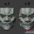 Clown Motorcycle Mask - Cosplay Halloween Helmet image