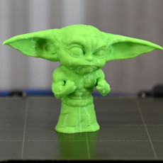 Picture of print of Buff Yoda