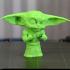 Buff Yoda print image
