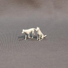 Picture of print of German shepherd dog 3D print model