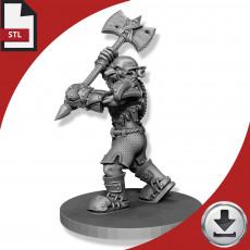 Goblin - Two Handed Axe