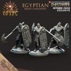 Egyptian Heavy Infantry