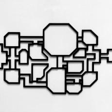 Wall Art -  The Skeld  map