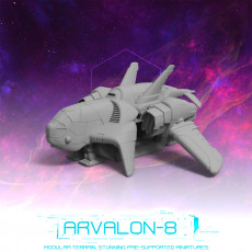 Arvalon-8 Space Fleet: The Charon Dropship