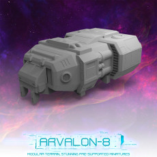 Arvalon-8 Space Fleet: The Halo