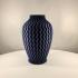 Textured Vase - ZigZag (Vase Mode) image