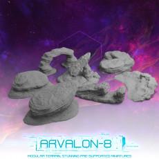 Arvalon-8 Desert Rocks
