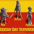 Modern Day Survivor Series 01 - PRE-SUPPORTED image