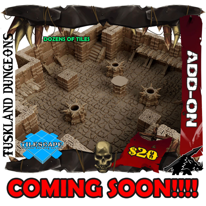 Tuskland Dungeons's Cover