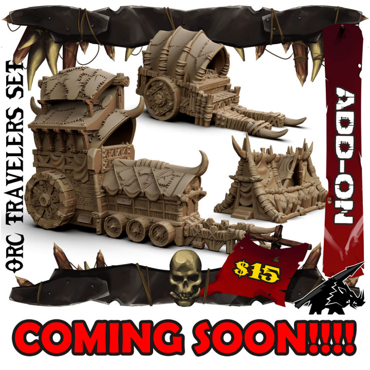 Orc Travelers Set's Cover