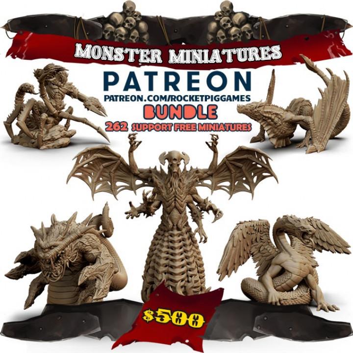Monster Miniatures Patreon Bundle's Cover