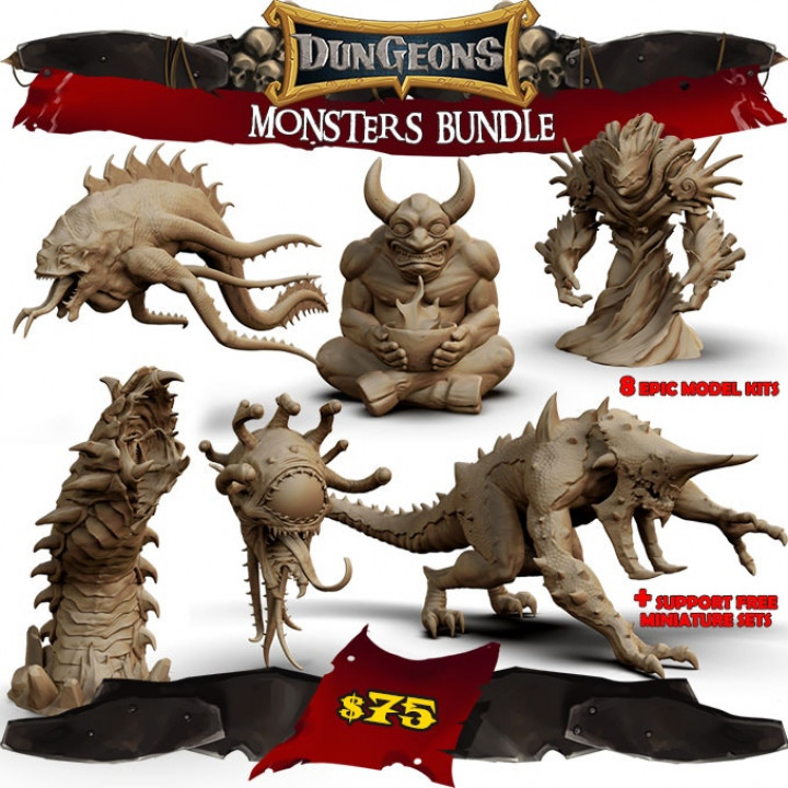 Dungeons Monster Bundle's Cover