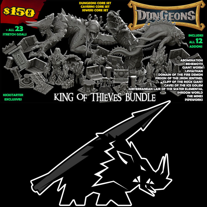King of Thieves Bundle's Cover