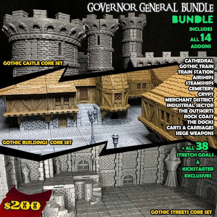 Governor General Bundle's Cover