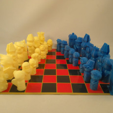 Doctor Who Chess - Whimsical