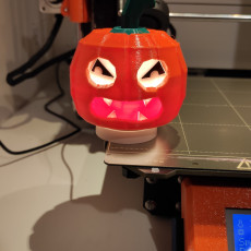 Picture of print of Face Changing Halloween Pumpkin