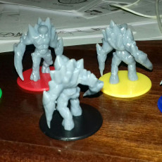 Picture of print of Ice Golem