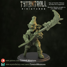 Goblin Spearman Pre-Supported