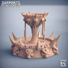 Soulless Chalice Fountain - Soulless Vampires Terrain Piece