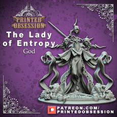 Lady of Entropy - (PRE SUPPORTED) - Boss Encounter - 100 mm - D&D