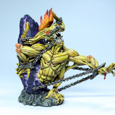 Picture of print of The Chained God - (PRE SUPPORTED) - 150 mm - D&D