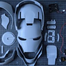 Iron Man Helmet, Articulated, Wearable