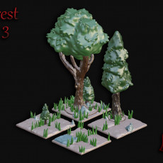 OpenFoliage Forest Set 3