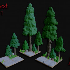 OpenFoliage Forest Set 1