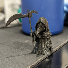 Picture of print of Little Plague Doctor
