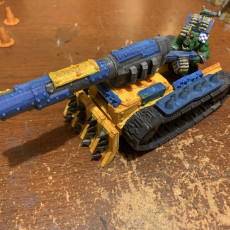 Picture of print of Ork Anti Tank Gun Cannon