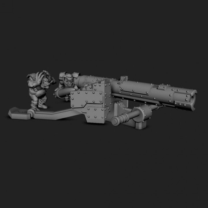 Ork Anti Tank Gun Cannon