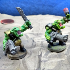 Picture of print of Ork Infantry Boys 2019