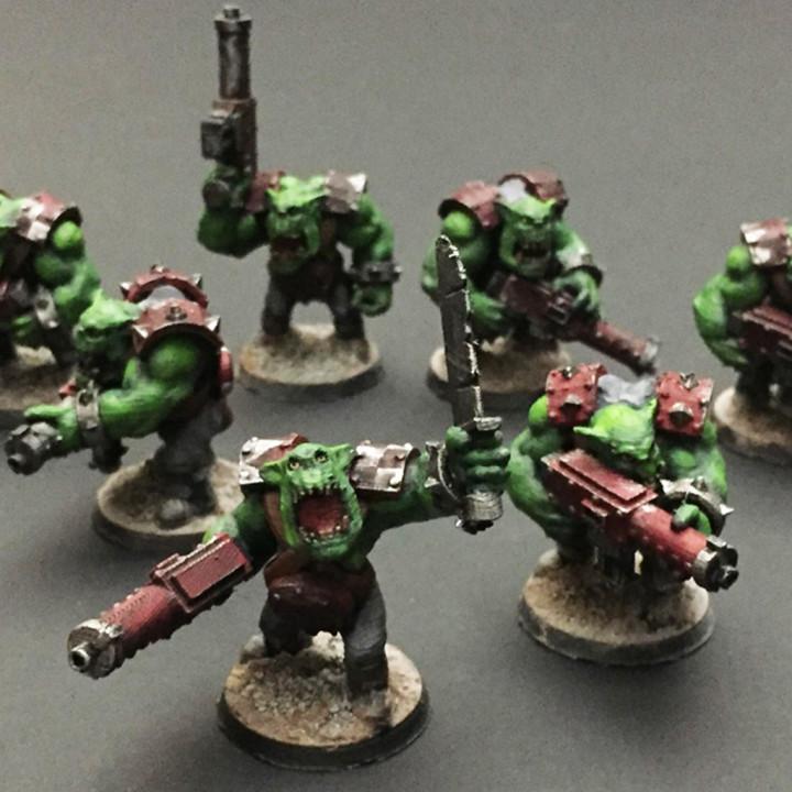 Ork Infantry Boys 2019