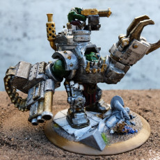 Picture of print of Biggest Baddest Ork Warboss 2019