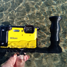 Underwater photography support