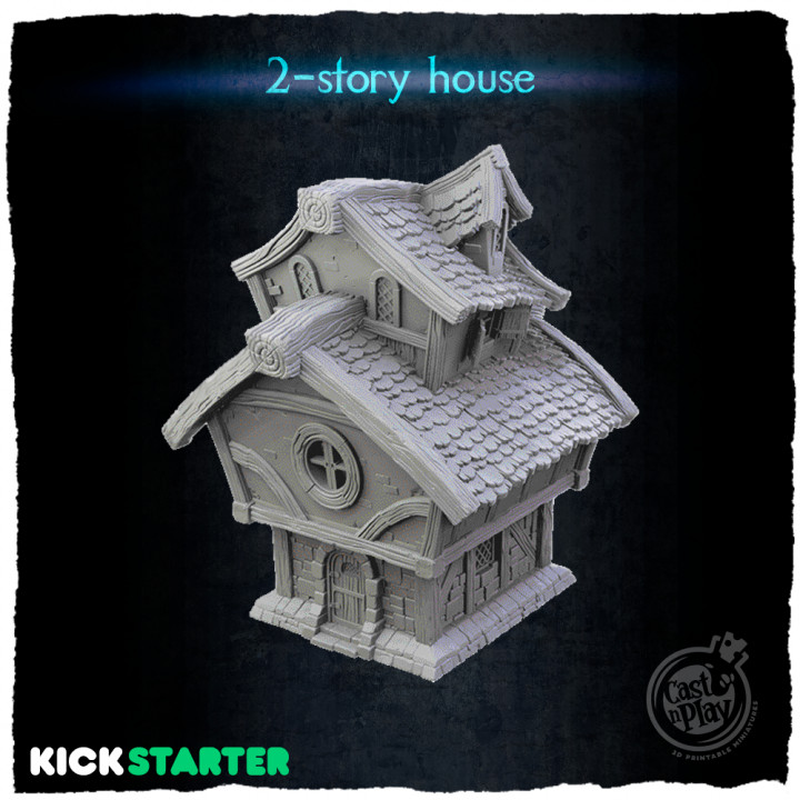 2-story house's Cover