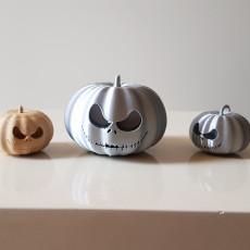 Halloween Pumpkin Nightmare Before Christmas with Keyring