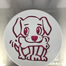 Puppy drinkcoaster