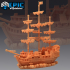 Pirate Ship The Menace / Corsair Sailing image