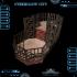 Cyberglow City Cyberpunk Double-Decker Fighting Ring image
