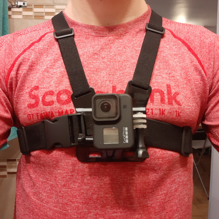 GoPro Portrait Adapter -- Low-profile 90 degrees Elbow