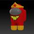 Among Us - Wonder Woman image