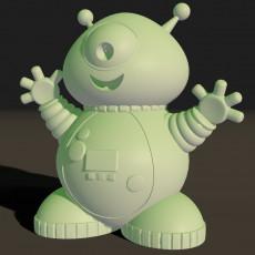 The Friendly Alien in a Spacesuit