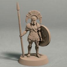 Realm of Eros captain miniature - STL file