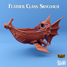 Airship - Feather Class Skycoach
