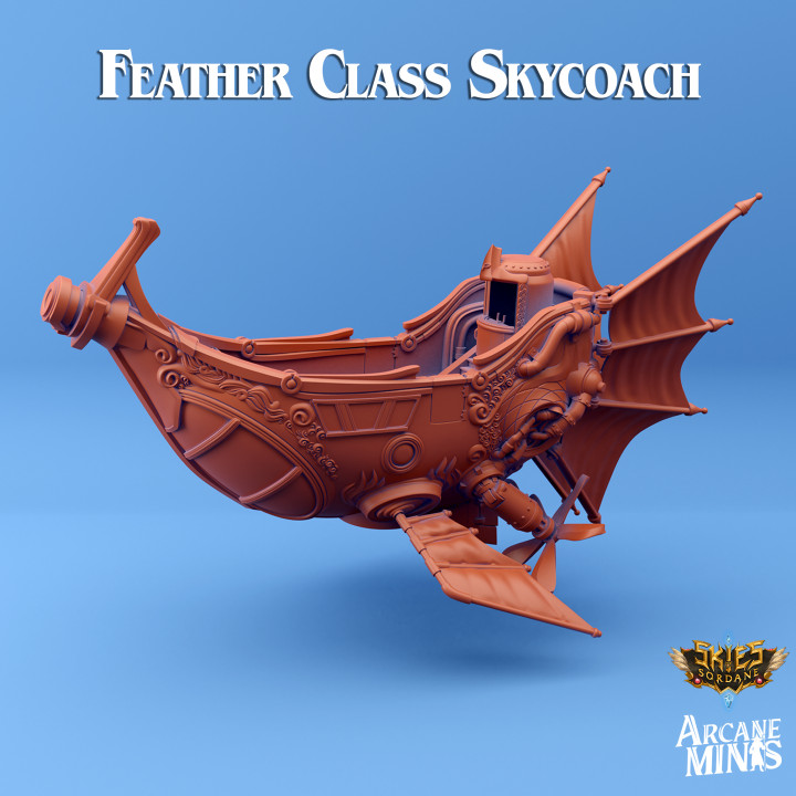 Airship - Feather Class Skycoach's Cover