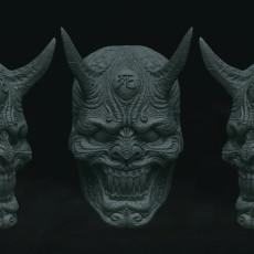 Hanya Demon Mask